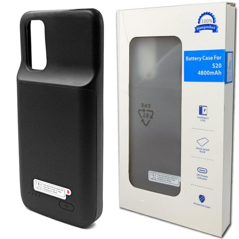 Чехол батарея для Samsung S20 4800 mAh