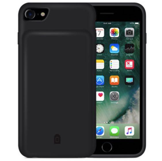 Чехол зарядка для iPhone 8 battery Case - 4500 mah black