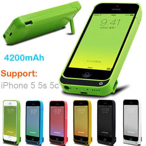 Чехол батарея для iPhone 5/5S/5C SE Power Pack 4200mah