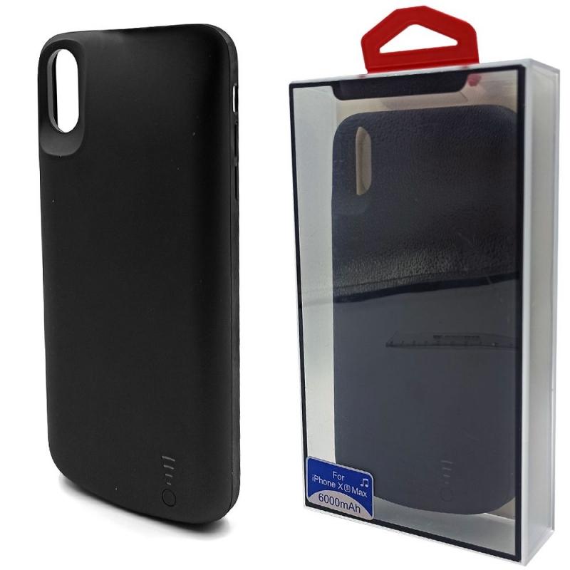 Чехол зарядка для iPhone XS max 6000 mAh
