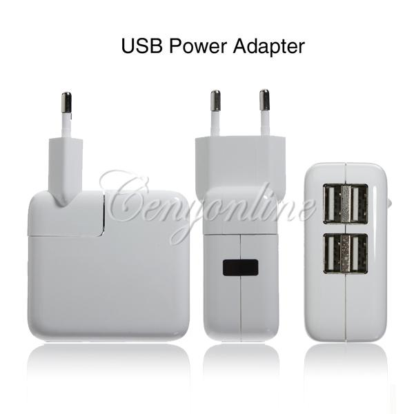 Адаптер-зарядка на 4 USB Ports