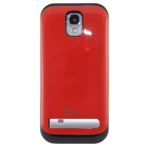 Чехол аккумулятор для Samsung Galaxy S4 red
