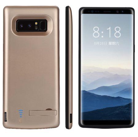 Чехол аккумулятор для Samsung Galaxy Note 8 6500 mah Prostrum Gold