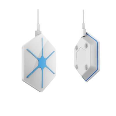Беспроводная зарядка QI для iPhone X, iPhone 8 Glitz-1 белая