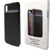 Чехол аккумулятор для iPhone XS max 4000 mAh Black